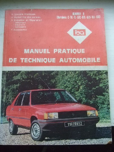 Manuel pratique de technique automobile. Renault 9. 5version C-T